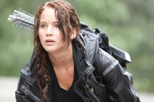 Try rocking a french braid like Katniss.